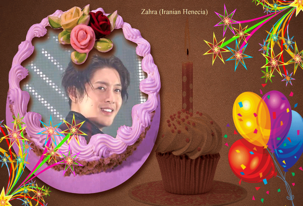 (My Fanart from Happy 32th Birtday of KHJ (14