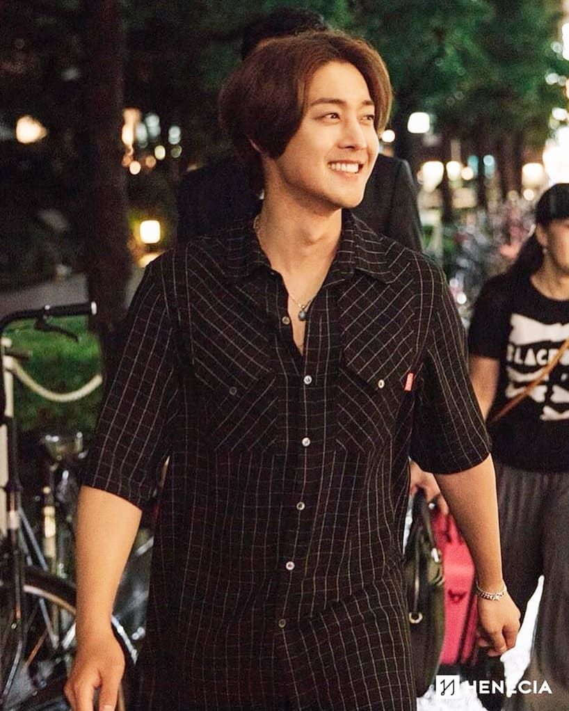 [Photo] Kim Hyun Joong Japan Mobile Site Update [2018.08.03]