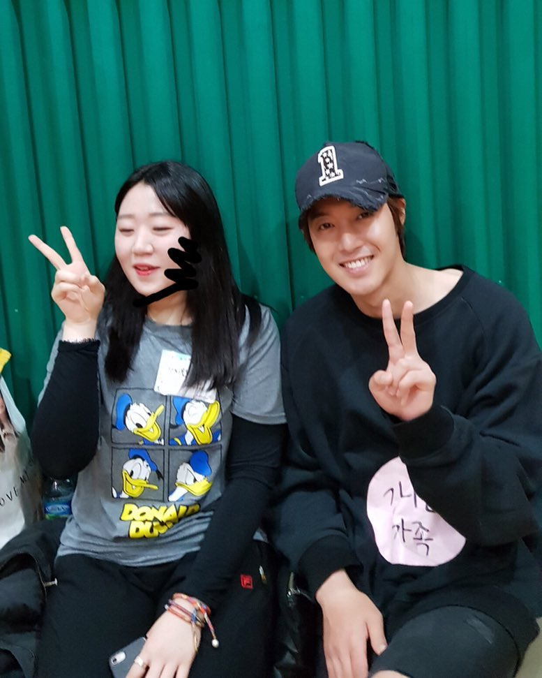 Hyun Joong attended his Nephew athleticsports meeting in kindergarten 2018.05.12