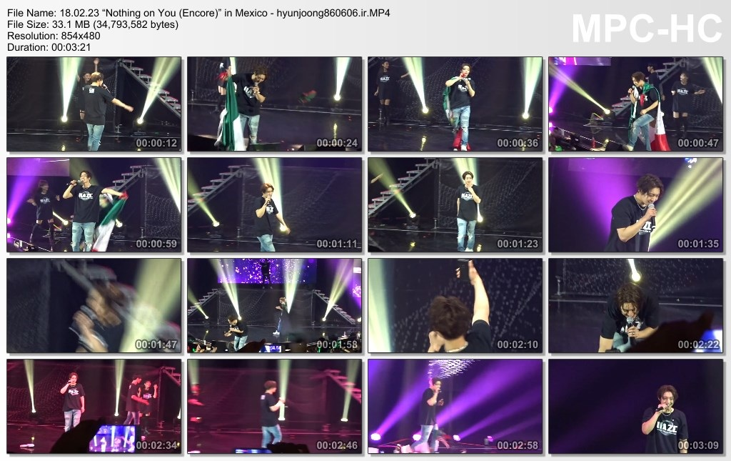 Nothing on You (Encore) in Mexico 18.02.23 - hyunjoong860606.ir