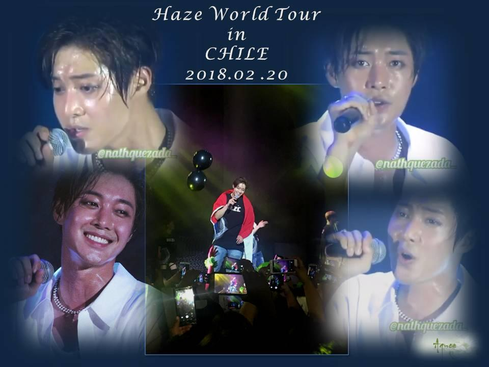 "[Fanpics] Kim Hyun Joong 2018 World Tour ""HAZE"" in Chile [2018.02.20]"