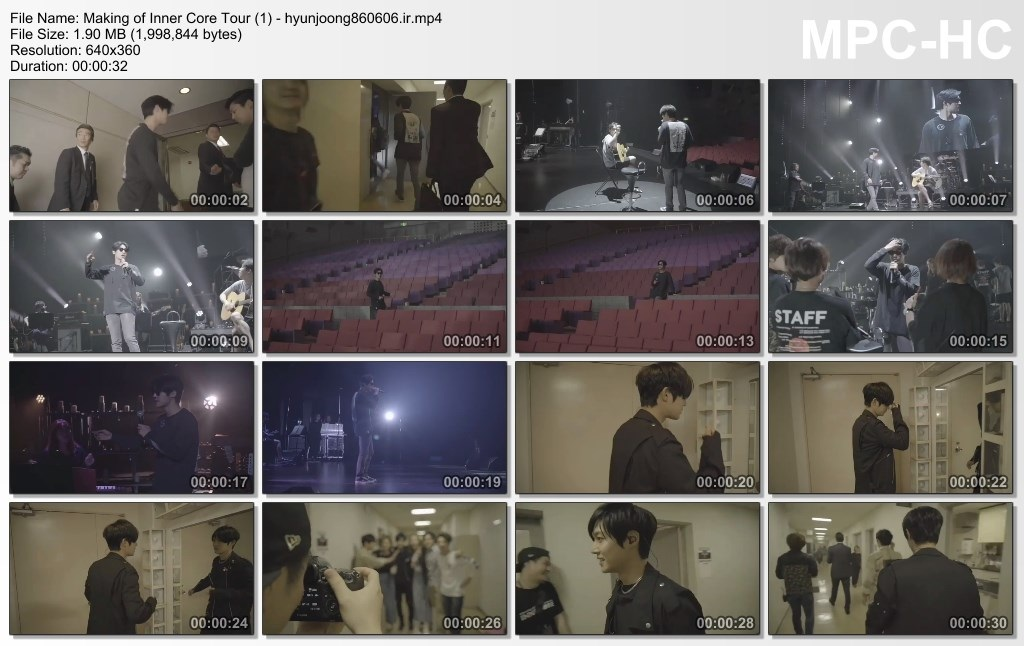 Making of Inner Core Tour (1) - hyunjoong860606.ir