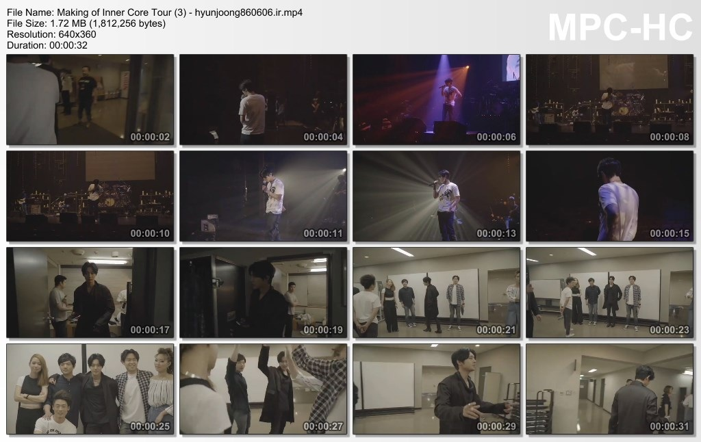 Making of Inner Core Tour (3) - hyunjoong860606.ir