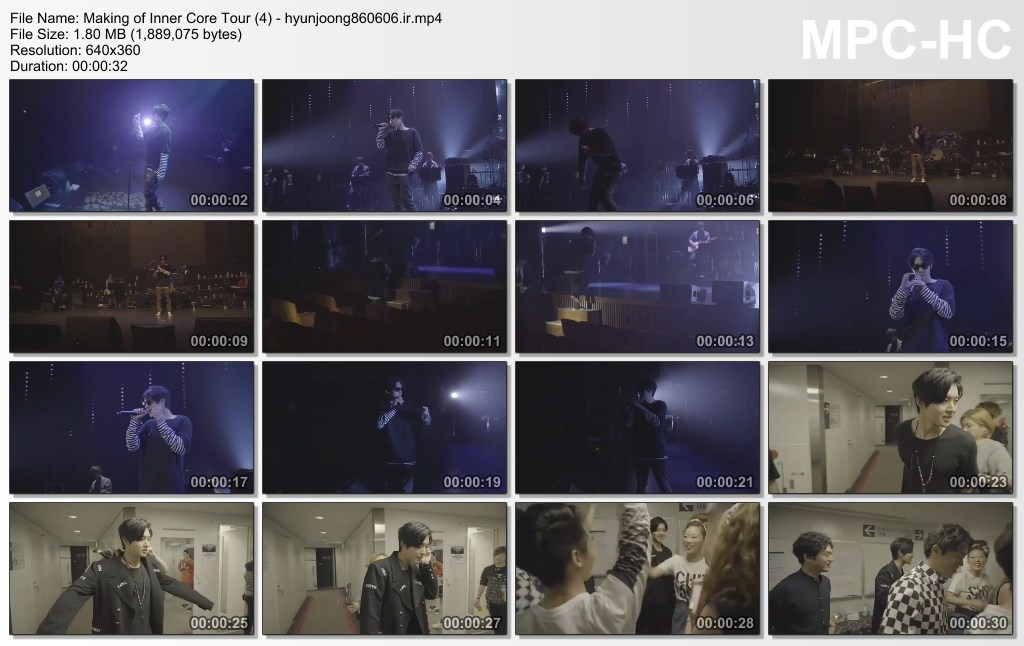 Making of Inner Core Tour (4) - hyunjoong860606.ir