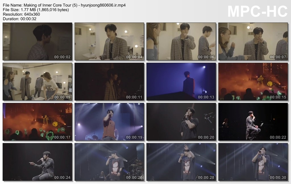 Making of Inner Core Tour (5) - hyunjoong860606.ir