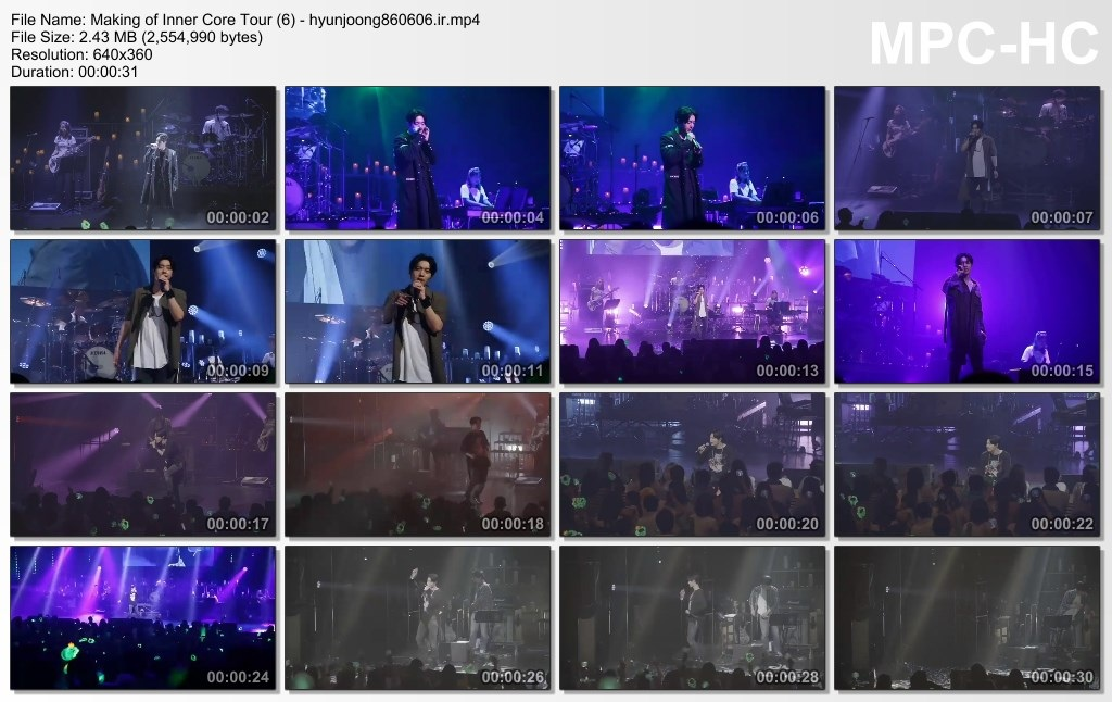 Making of Inner Core Tour (6) - hyunjoong860606.ir