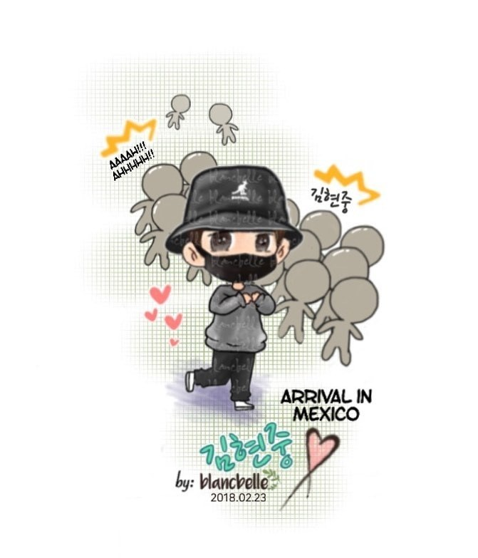 [blancbelle Fanart] Kim Hyun Joong ~ It was an amazing Haze World Tour in Latin America! [2018.02.23]
