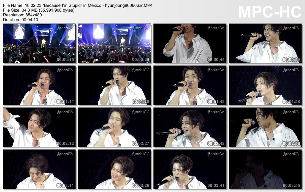 Because I'm Stupid in Mexico 18.02.23 - hyunjoong860606.ir