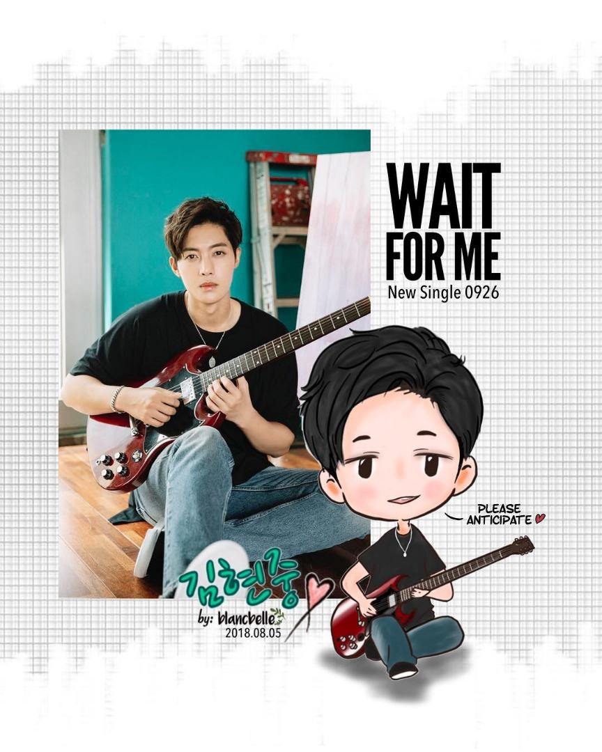 [blancbelle Fanart] Kim Hyun Joong - Wait For Me New Single 0926 [2018.08.05]