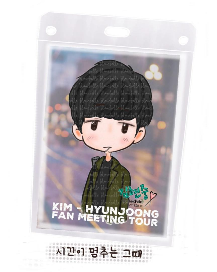 [blancbelle Fanart] Kim Hyun Joong 'When Time Stopped' FM Tour [2018.08.18]