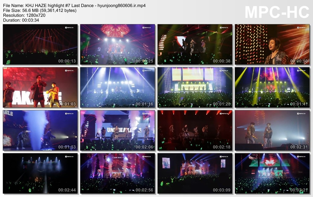 KHJ HAZE highlight 7 Last Dance - hyunjoong860606.ir