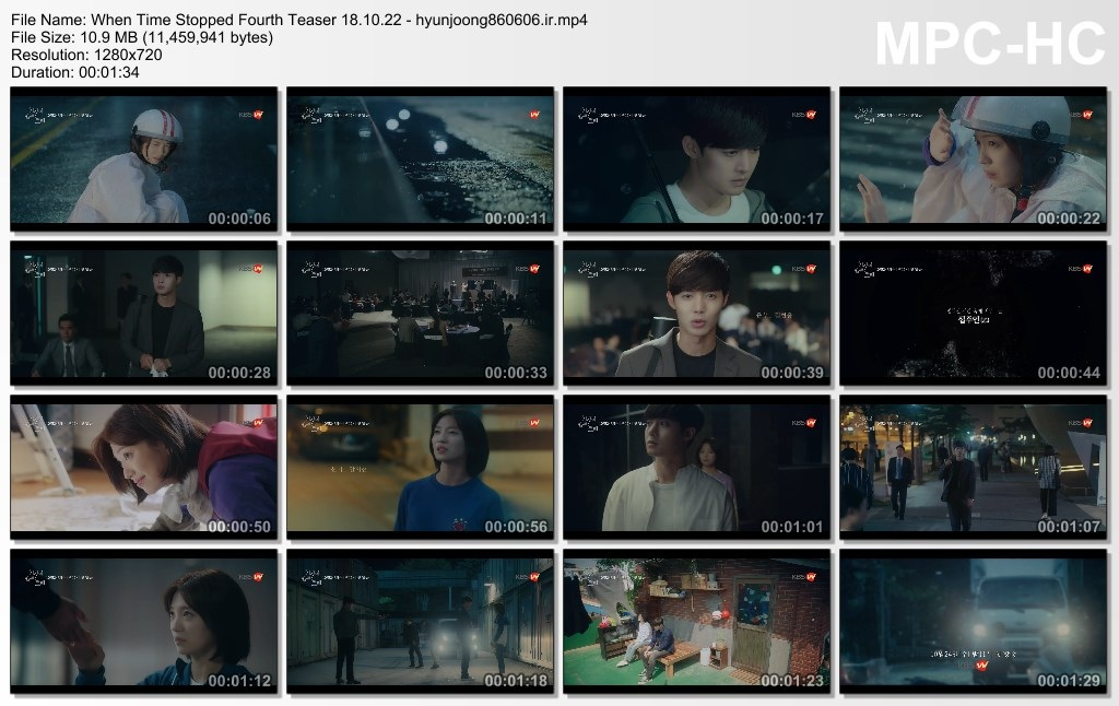 When Time Stopped Fourth Teaser 18.10.22 - hyunjoong860606.ir