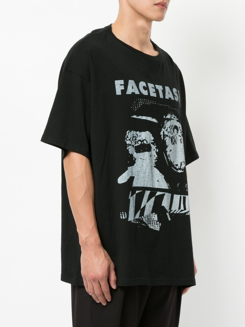 (FACETASM T-shirt Black (4
