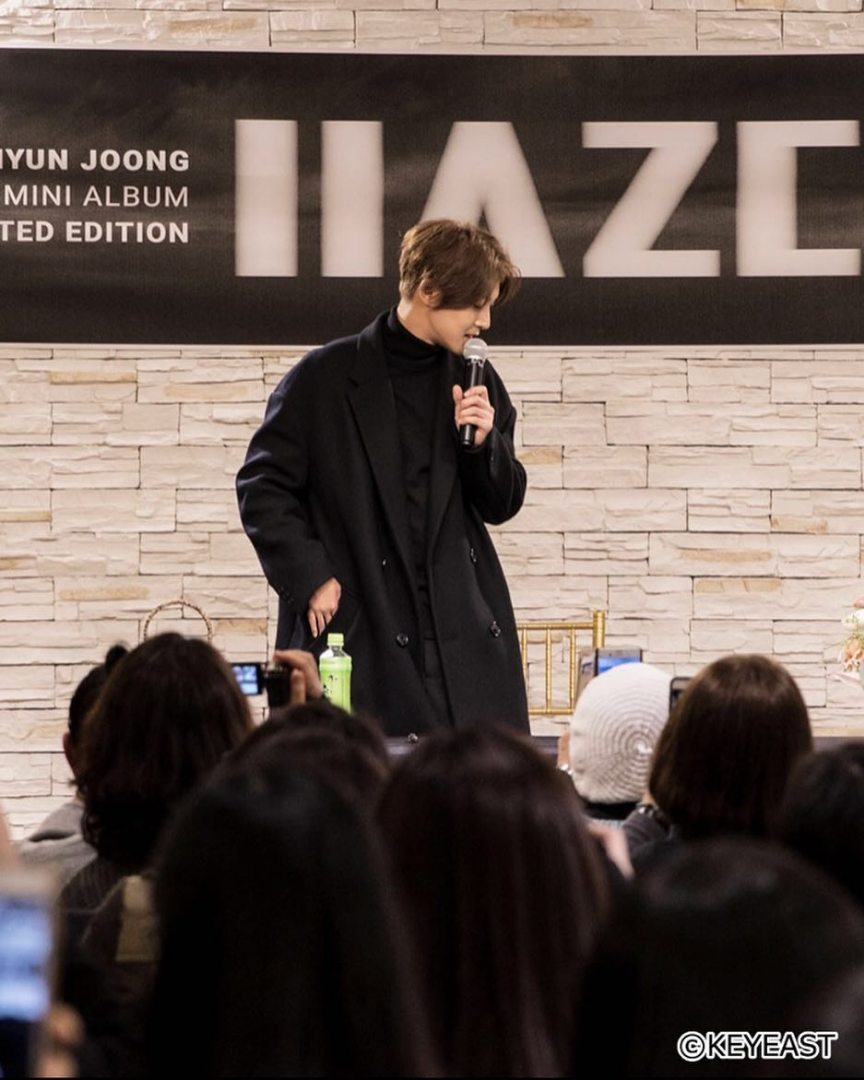 [Photo] Kim Hyun Joong Japan Mobile Site Update [2018.03.14]
