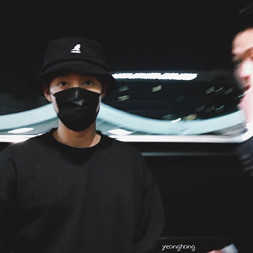 [Fanpics+Fancam] Kim Hyun Joong arrived at Gimpo Airport [2018.03.06]
