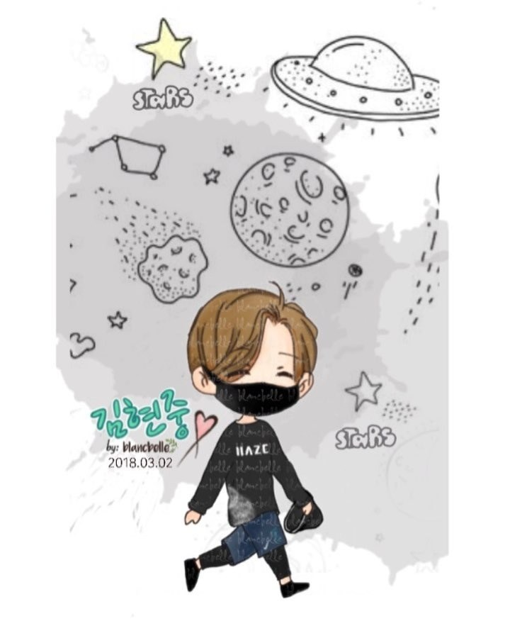 [blancbelle Fanart] Kim Hyun Joong ~ Let's have lots of fun in Japan next [2018.03.02]