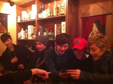 (KHJ Pictures with his friends taking on January 2012 (2