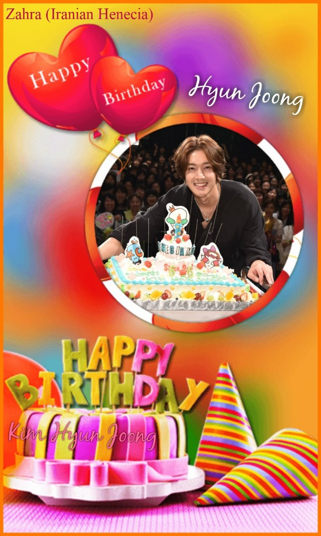 Happy 32th Birtday of Kim Hyun Joong , our Only One - 2018.06.06