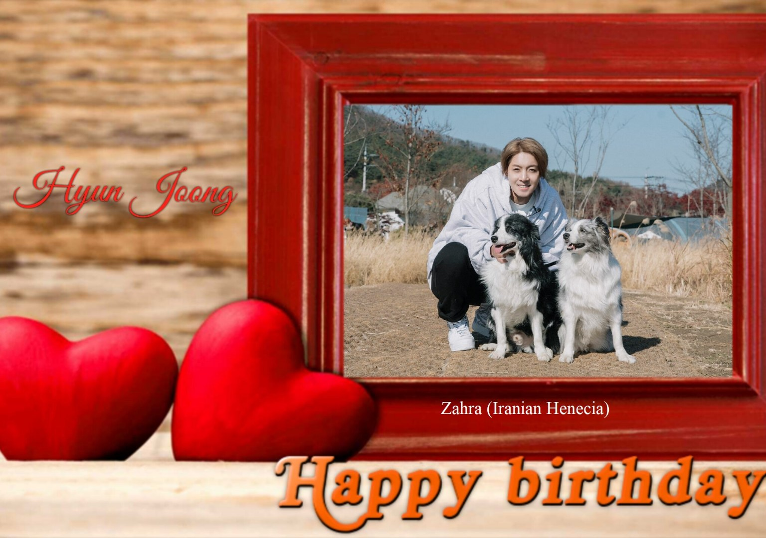 (My Fanart from Happy 32th Birtday of KHJ (3