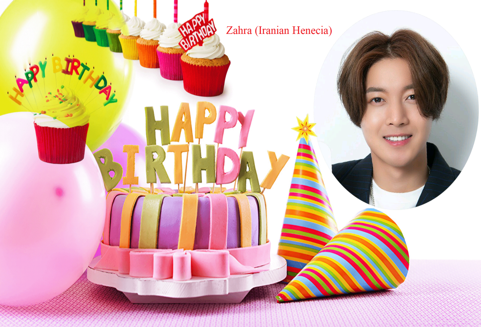 (My Fanart from Happy 32th Birtday of KHJ (5