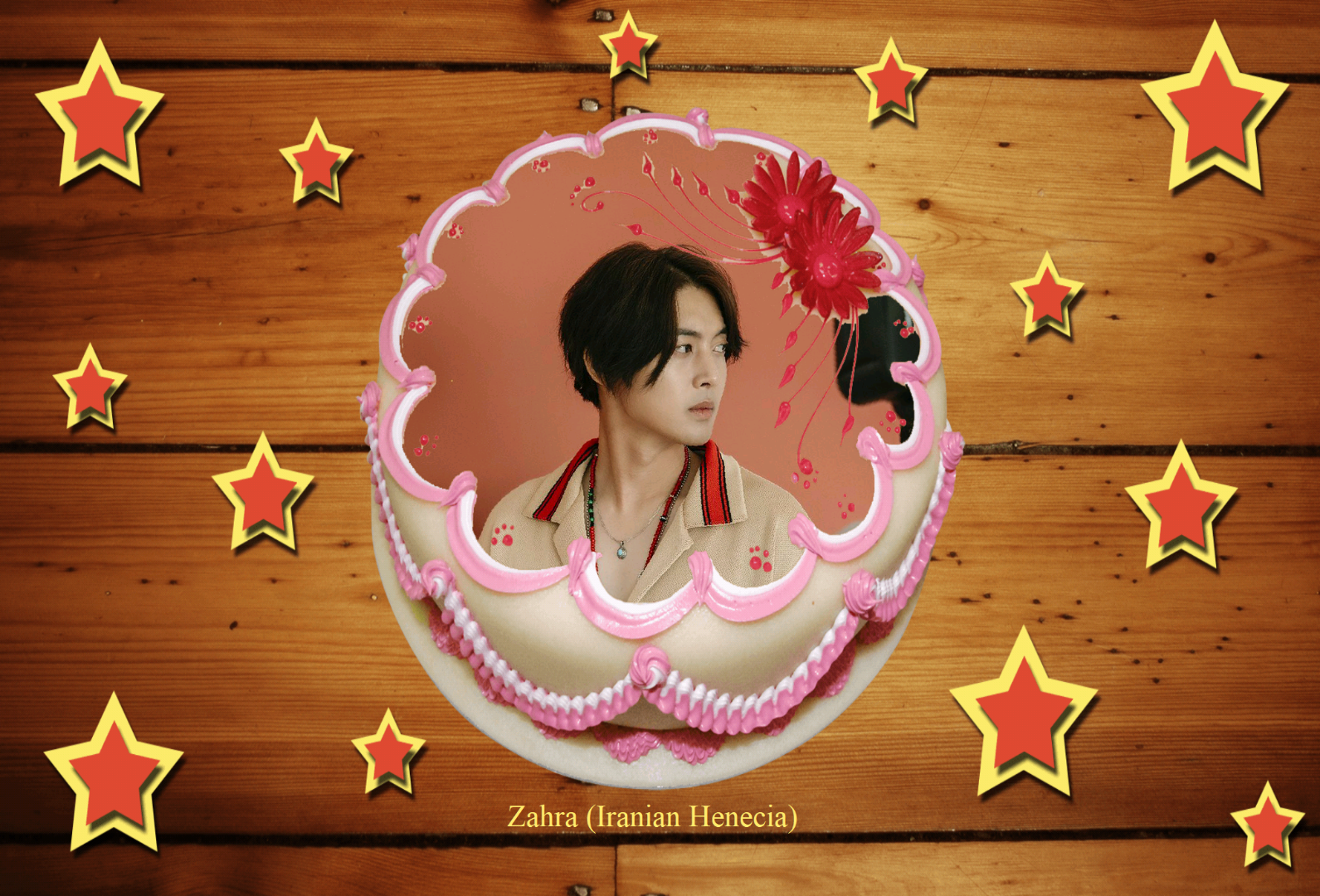 (My Fanart from Happy 32th Birtday of KHJ (9