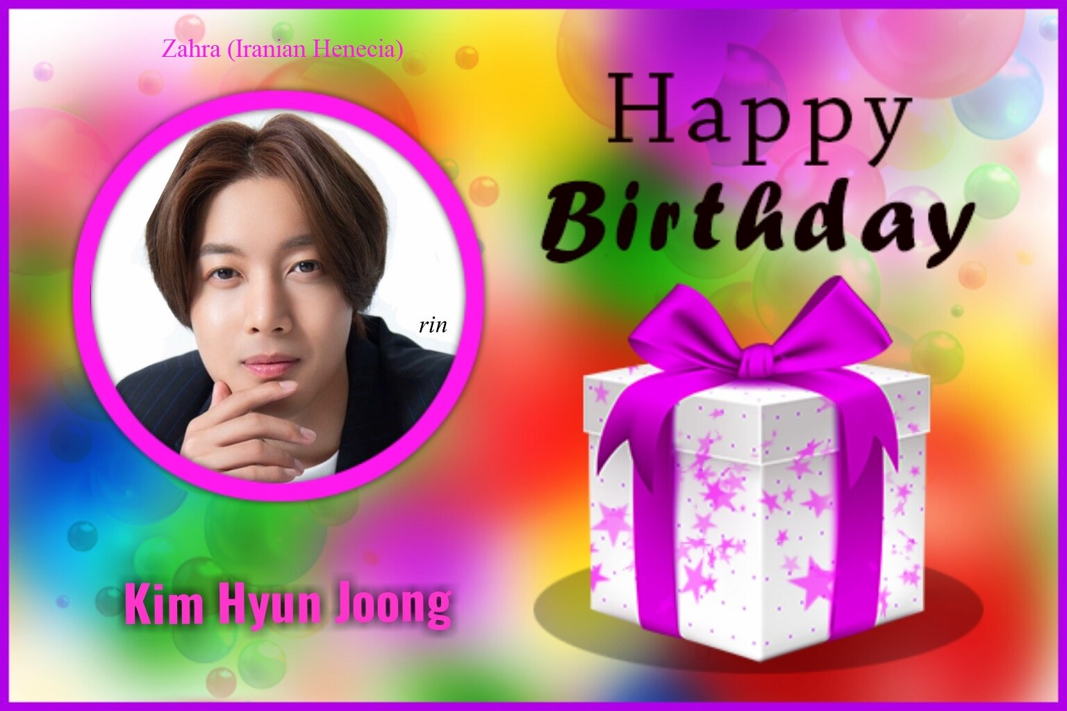 (My Fanart from Happy 32th Birtday of KHJ (10