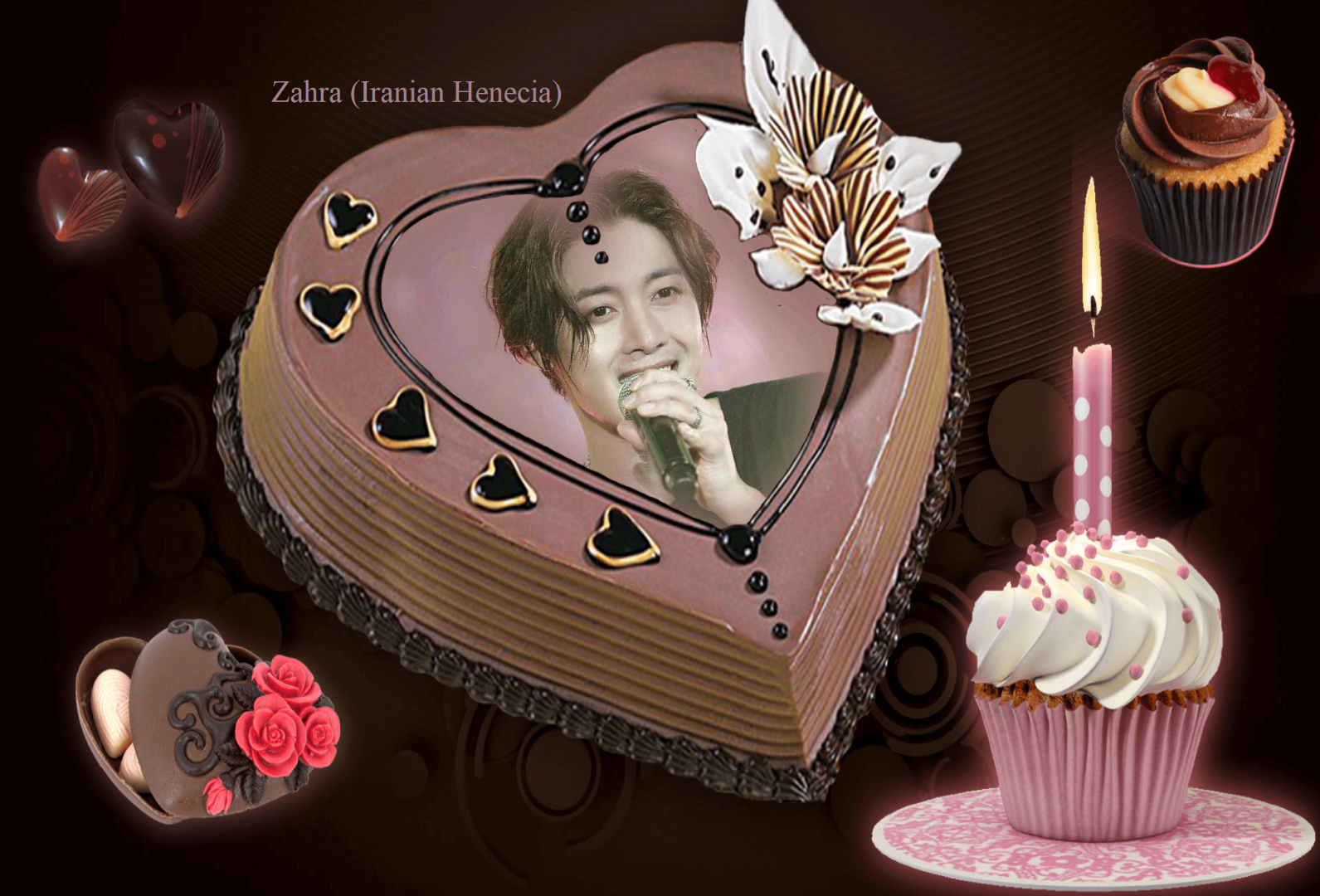 (My Fanart from Happy 32th Birtday of KHJ (15