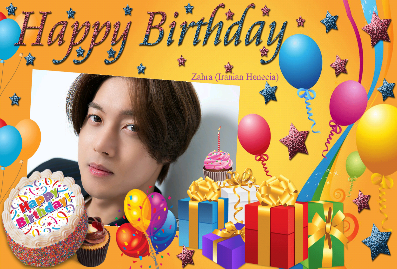 (My Fanart from Happy 32th Birtday of KHJ (17