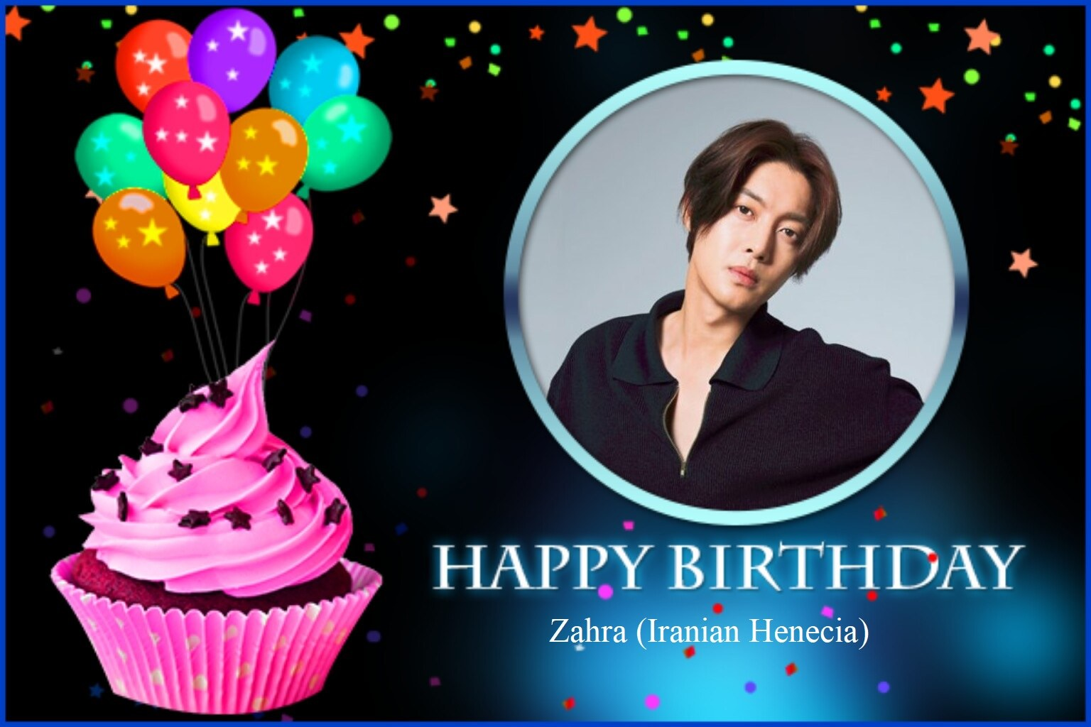 (My Fanart from Happy 32th Birtday of KHJ (19