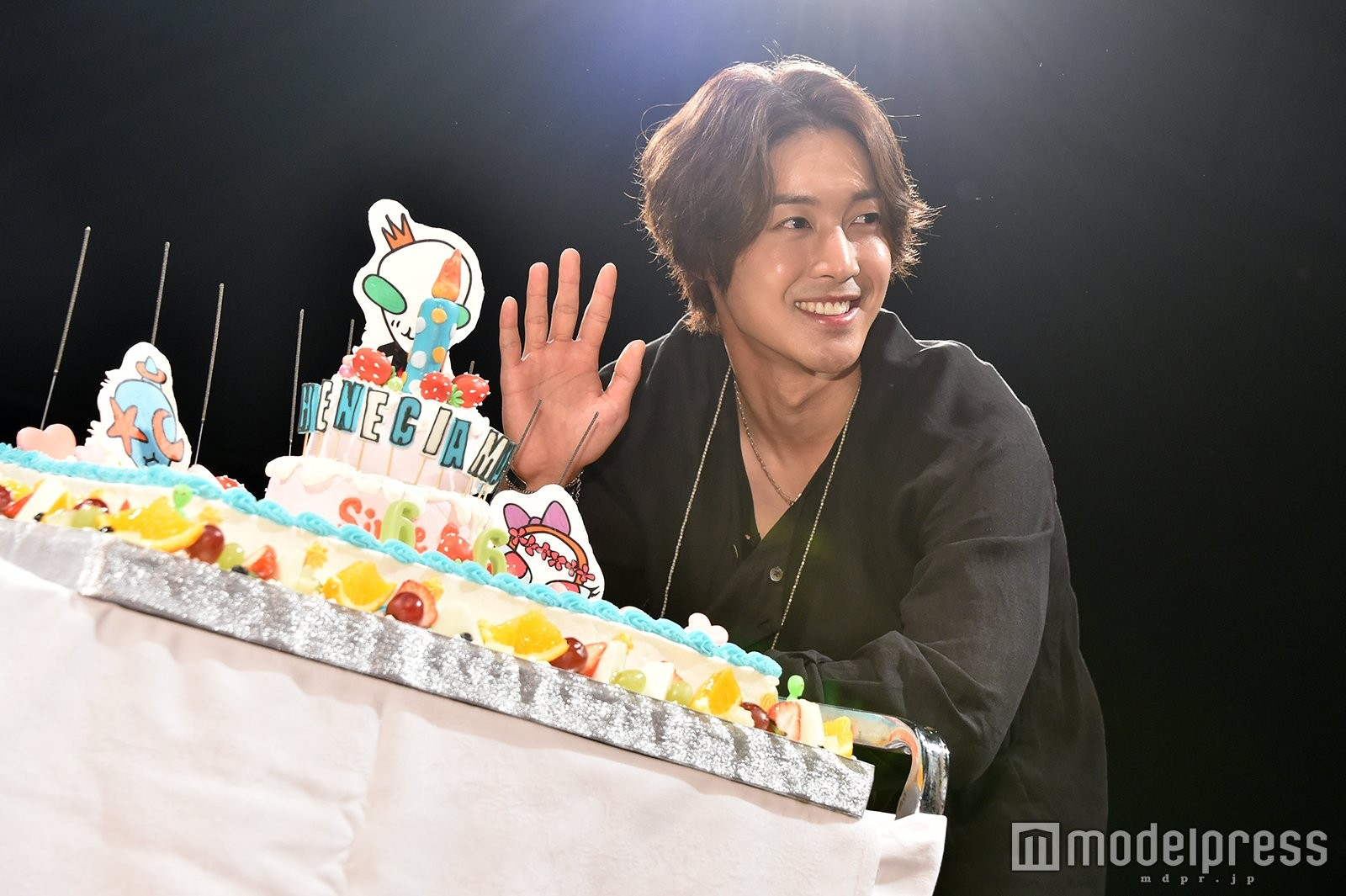 [Fancams] Kim Hyun joong Take My Hand Press Conference at Studio Coast Tokyo ~ Happy Birthday KHJ [2018.06.06]