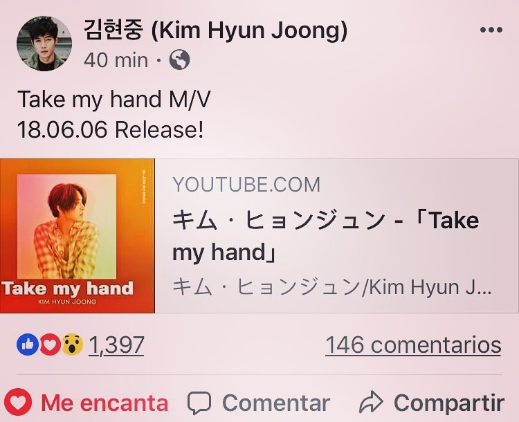 Kim Hyun Joong Official Site and FB Update 2018.05.29