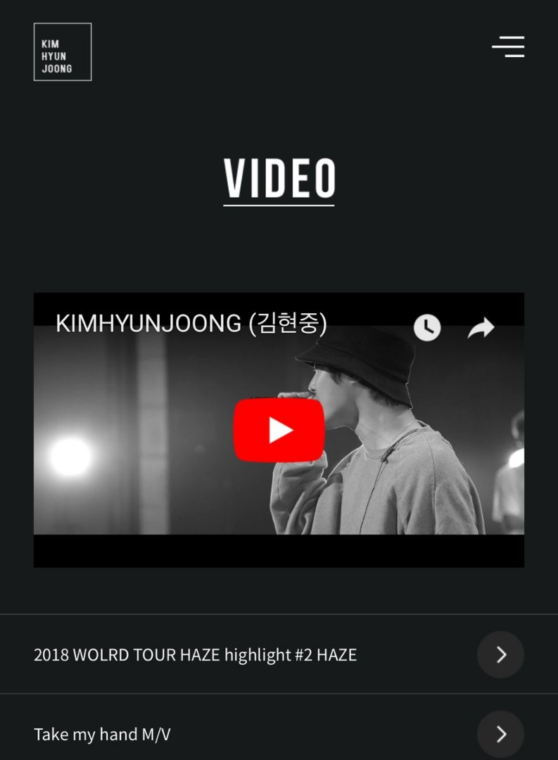 KHJ Official Site Update 18.05.30