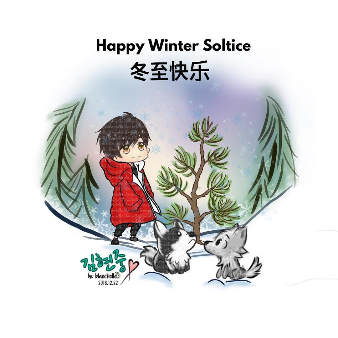 [blancbelle Fanart] Happy Winter Soltice 冬至 for Chinese [2018.12.22]