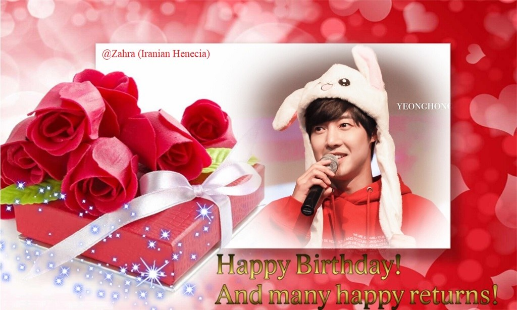 (Happy 33th Birthday KHJ (15