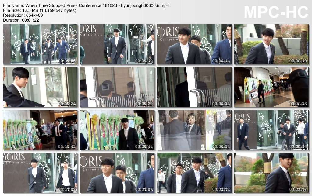 When Time Stopped Press Conference 181023 - hyunjoong860606.ir