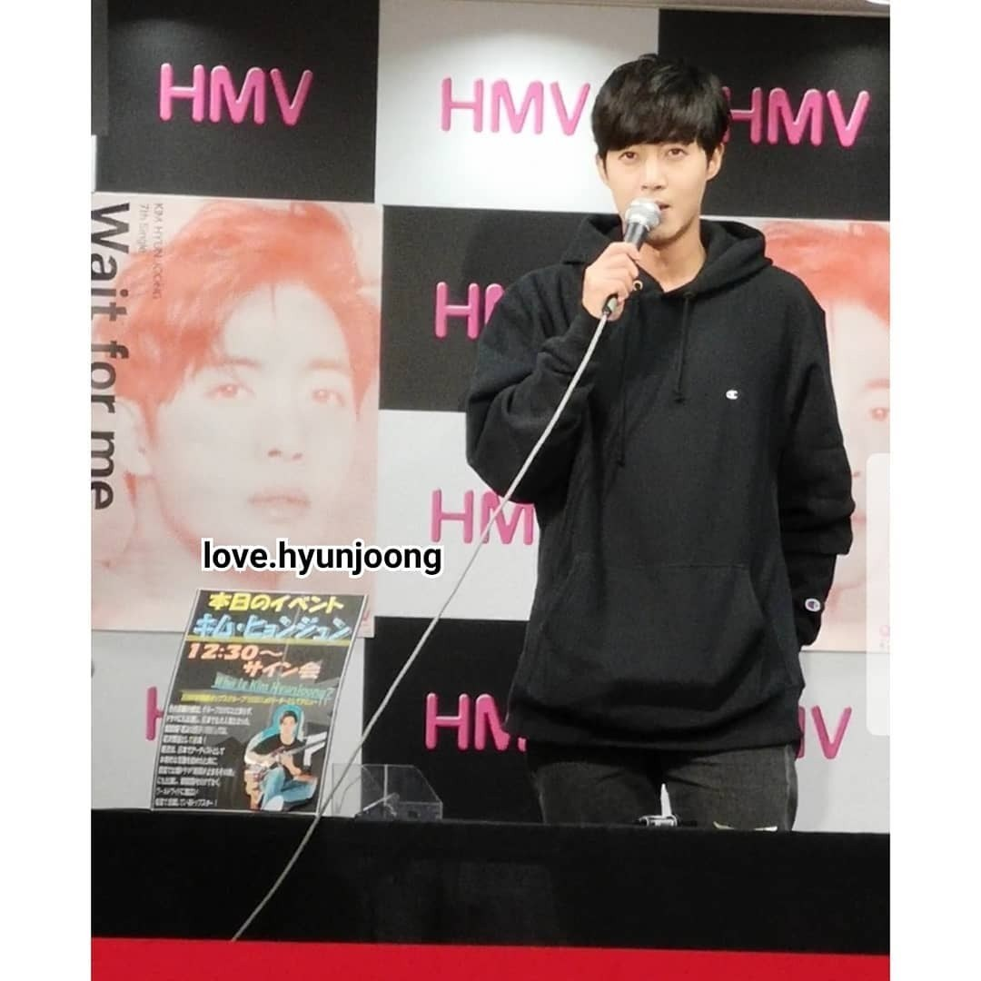 [Fanpics] Kim Hyun Joong Wait for me Fansign Event at HMV Sakae NOVA in Nagoya [2018.10.16]