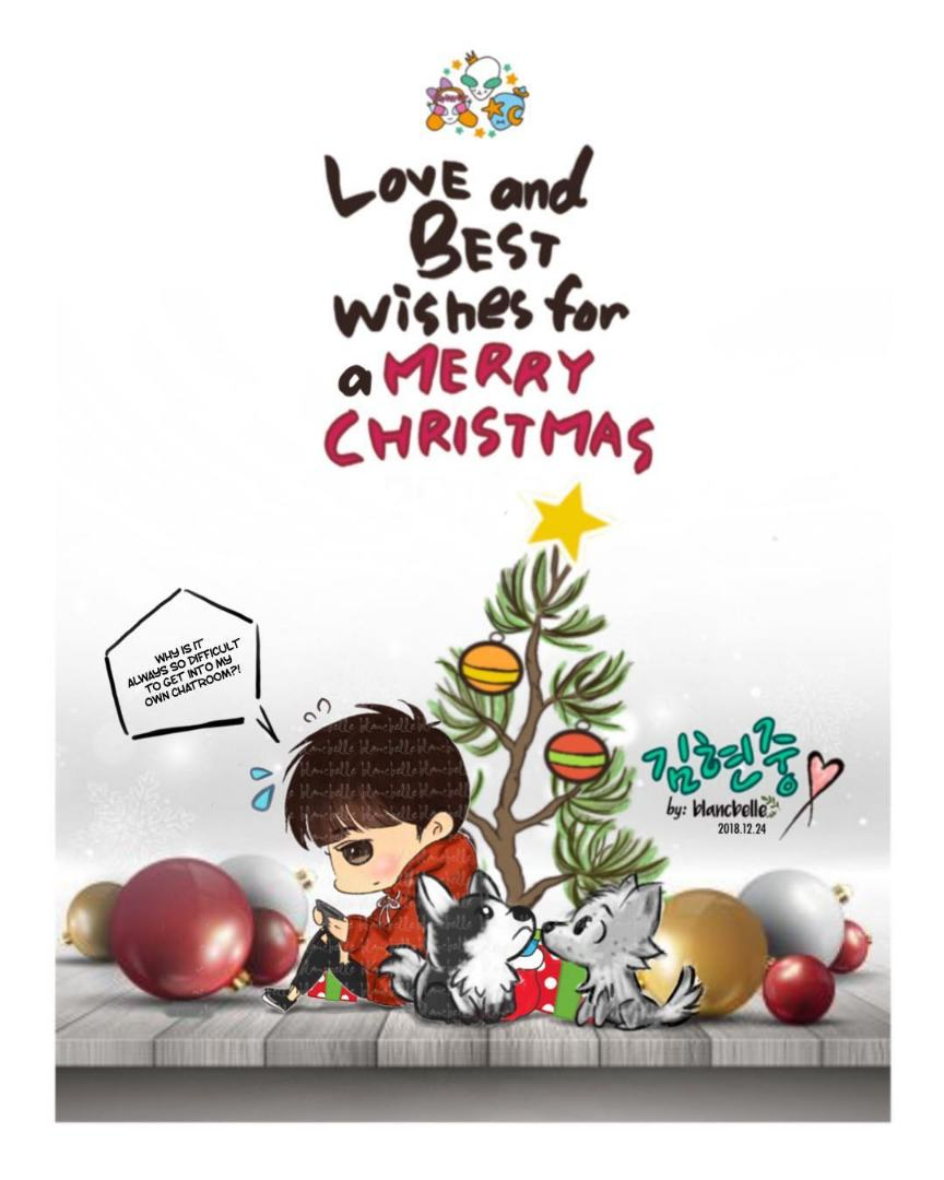 [blancbelle Fanart] Love and Best Wishes for a Merry Christmas [2018.12.24]
