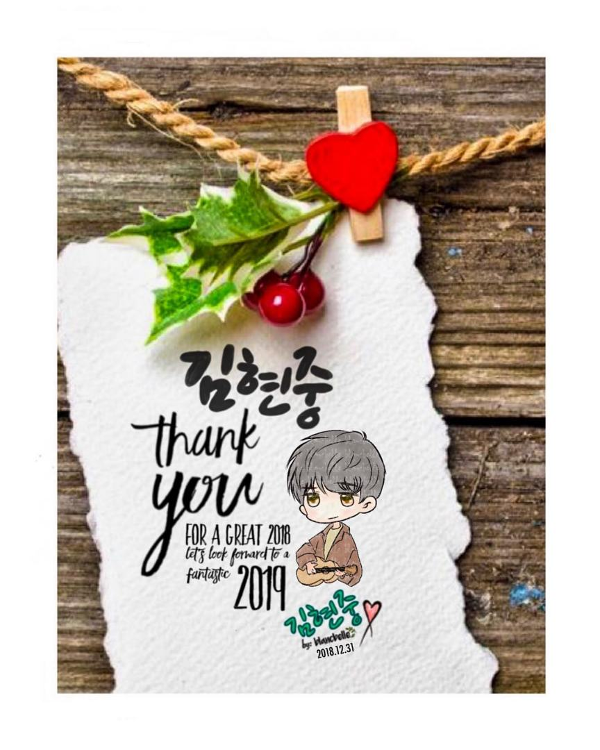 [blancbelle Fanart] thank you for a great 2018 lets look forward to a fantastic 2019 [2018.12.31]