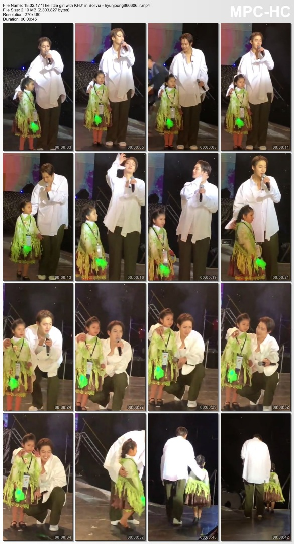 """18.02.17 """"The little girl with KHJ"""" in Bolivia - hyunjoong860606.ir"""