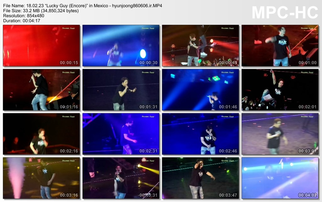 Lucky Guy (Encore) in Mexico 18.02.23 - hyunjoong860606.ir