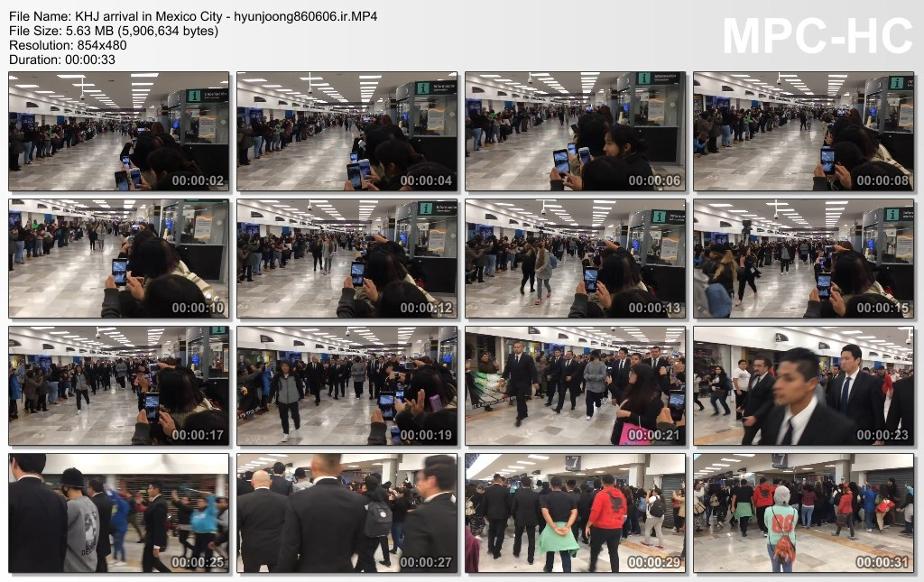 KHJ arrival in Mexico City - hyunjoong860606.ir