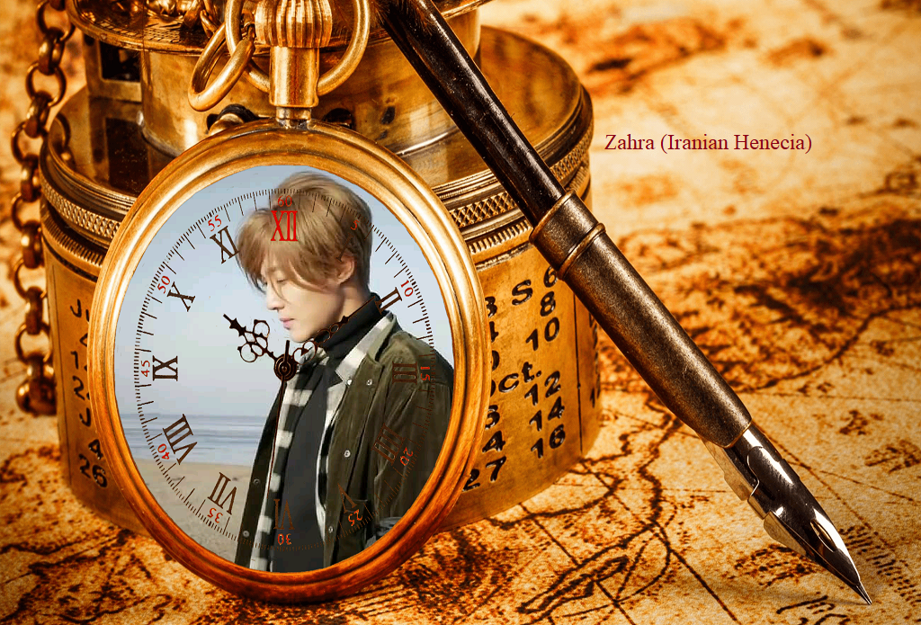 My Fanart of KHJ When time stopped drama and HAZE highlight