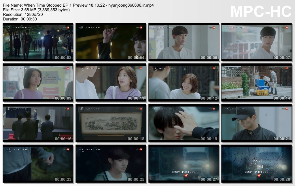 When Time Stopped EP 1 Preview 18.10.22 - hyunjoong860606.ir