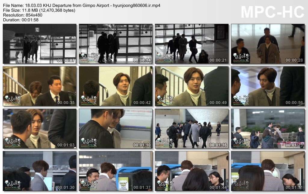 18.03.03 KHJ Departure from Gimpo Airport - hyunjoong860606.ir