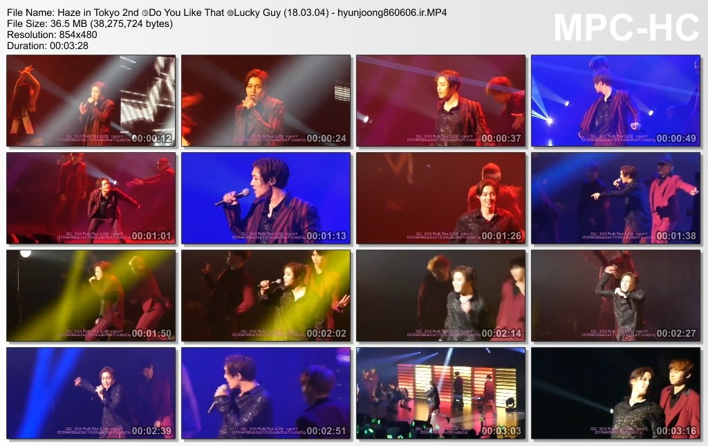 Haze in Tokyo 2nd ⑨Do You Like That ⑩Lucky Guy (18.03.04) - hyunjoong860606.ir