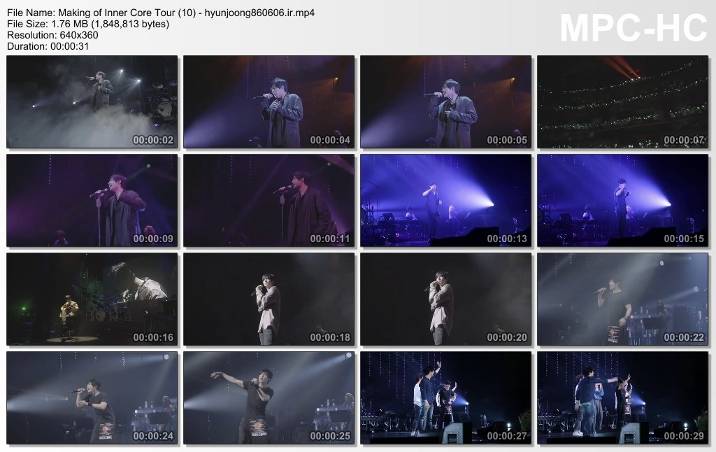 Making of Inner Core Tour (10) - hyunjoong860606.ir