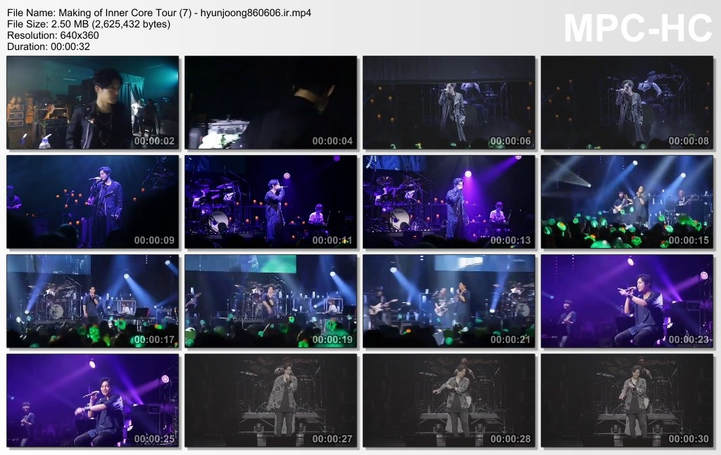 Making of Inner Core Tour (7) - hyunjoong860606.ir