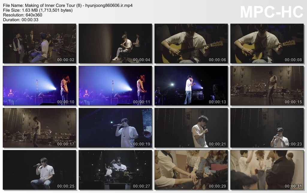 Making of Inner Core Tour (8) - hyunjoong860606.ir
