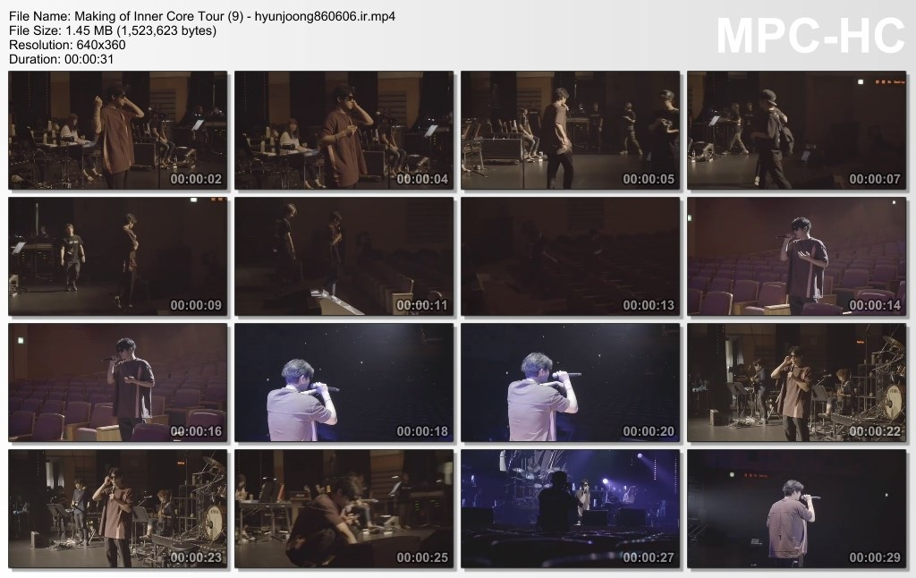 Making of Inner Core Tour (9) - hyunjoong860606.ir