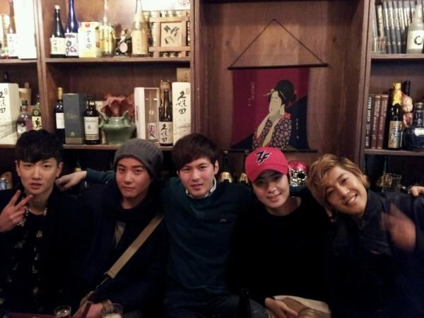 KHJ Pictures with his friends taking on January 2012